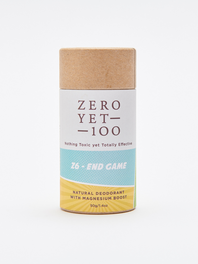 Z6 push-up stick deodorant Zero Yet 100 ethical skincare