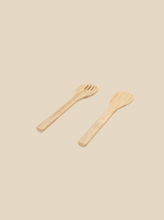 將圖片載入圖庫檢視器 bamboo serving utensils handmade and biodegradable eco-friendly dinnerware
