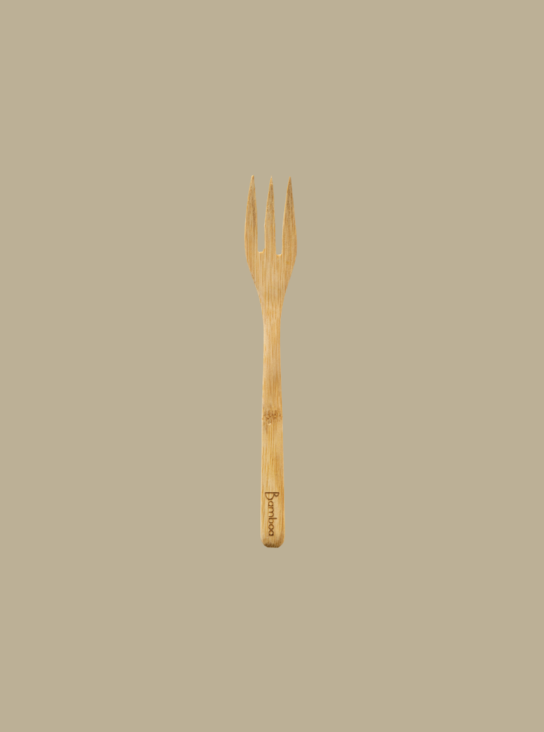 bamboo natural eco-friendly fork zero waste essentials