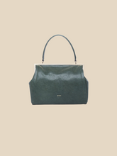 Load image into Gallery viewer, Ril Creed Celia bag ethically made from upcycled scrap leather ethical fashion brand based in Hong Kong vintage style