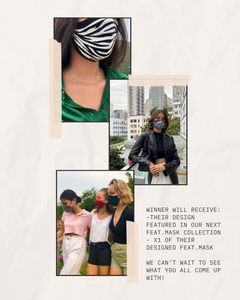 Plantdays x feat.FASHION design competition for feat.MASK