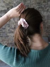 Load image into Gallery viewer, New Yorker Silk Scrunchie