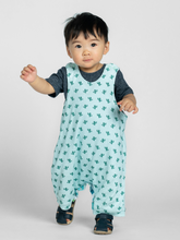 Load image into Gallery viewer, organic cotton 100% GOTS certified organic cotton baby & children's clothing dino cactus romper Cotton Pigs