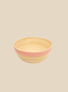 bamboo snack bowl handmade in Vietnam eco-friendly biodegradable tablewares