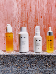 the facial spritzer WANT skincare ethical skincare brand based in Singapore