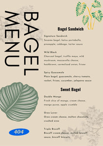 404 Plant vegan menu for Self-Love Retreat Hong Kong