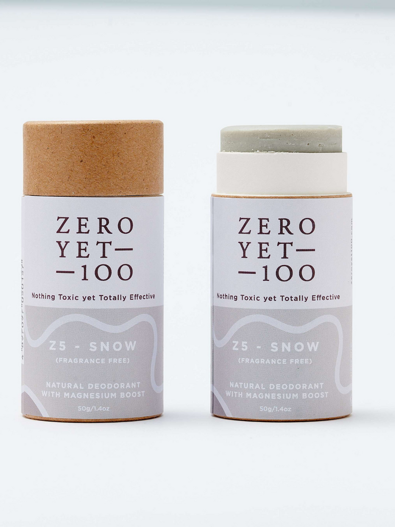 Zero Yet 100 Z5 snow push-up deodorant stick
