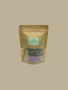 Tisarom healthy antistress organic tea biodegradable from Provence