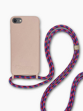 Load image into Gallery viewer, Sustainable Crossbody Phone Case / Rose Cloud