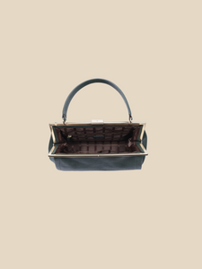 Ril Creed Celia bag ethically made from upcycled scrap leather ethical fashion brand based in Hong Kong vintage style