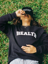 Cargar imagen en el visor de la galería, Healthy eco fleece sweatshirt Plantdays organic cotton and recycled polyester made in USA