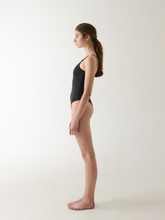 Load image into Gallery viewer, Annibody LEO black bodysuit minimal ethical fashion