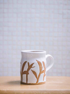 milk mug handmade in Hong Kong by The Broke Potter ceramics