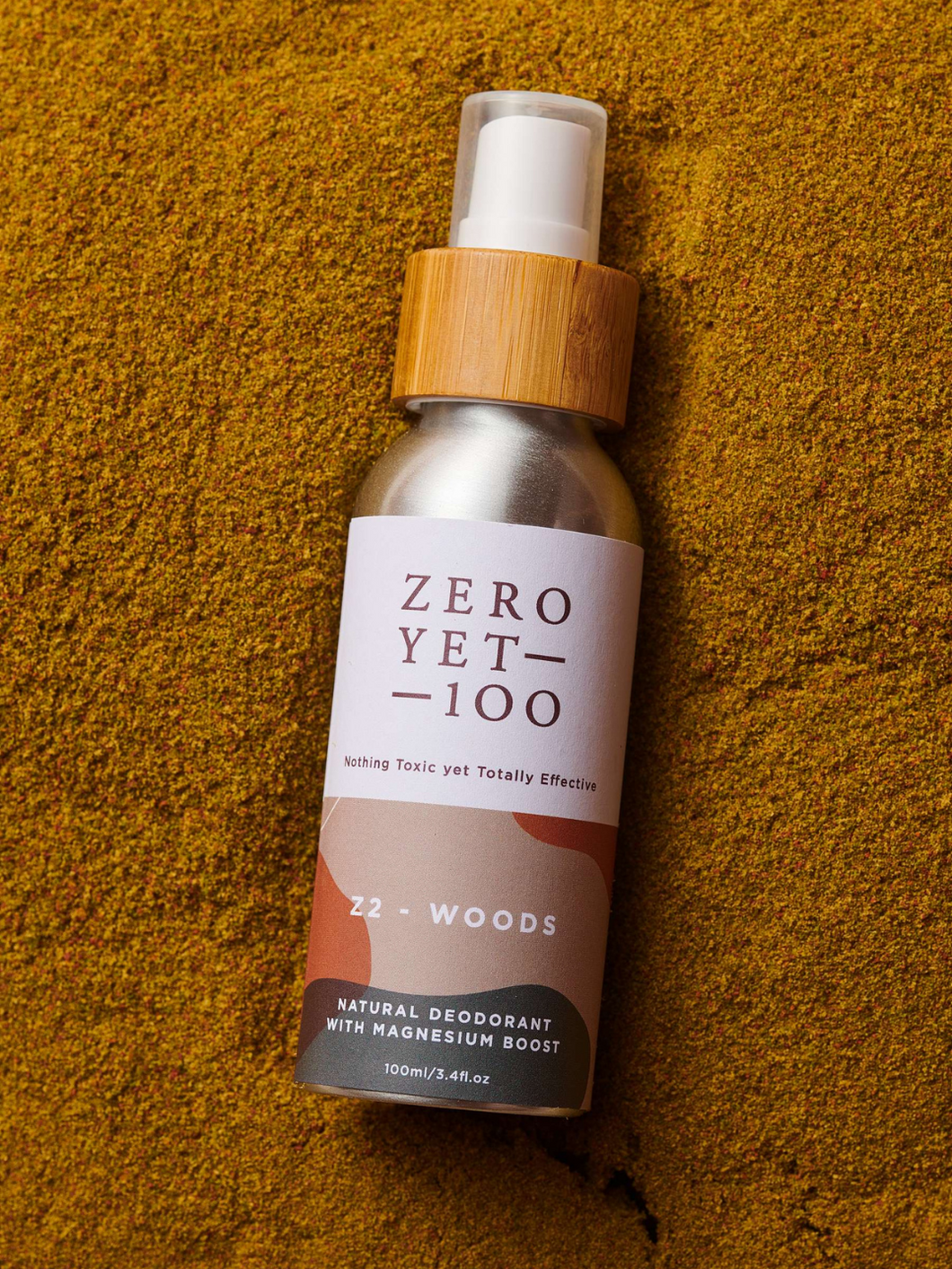 Z2 Woods Deodorant Spray Zero Yet 100 plastic-free packaging ethical skincare