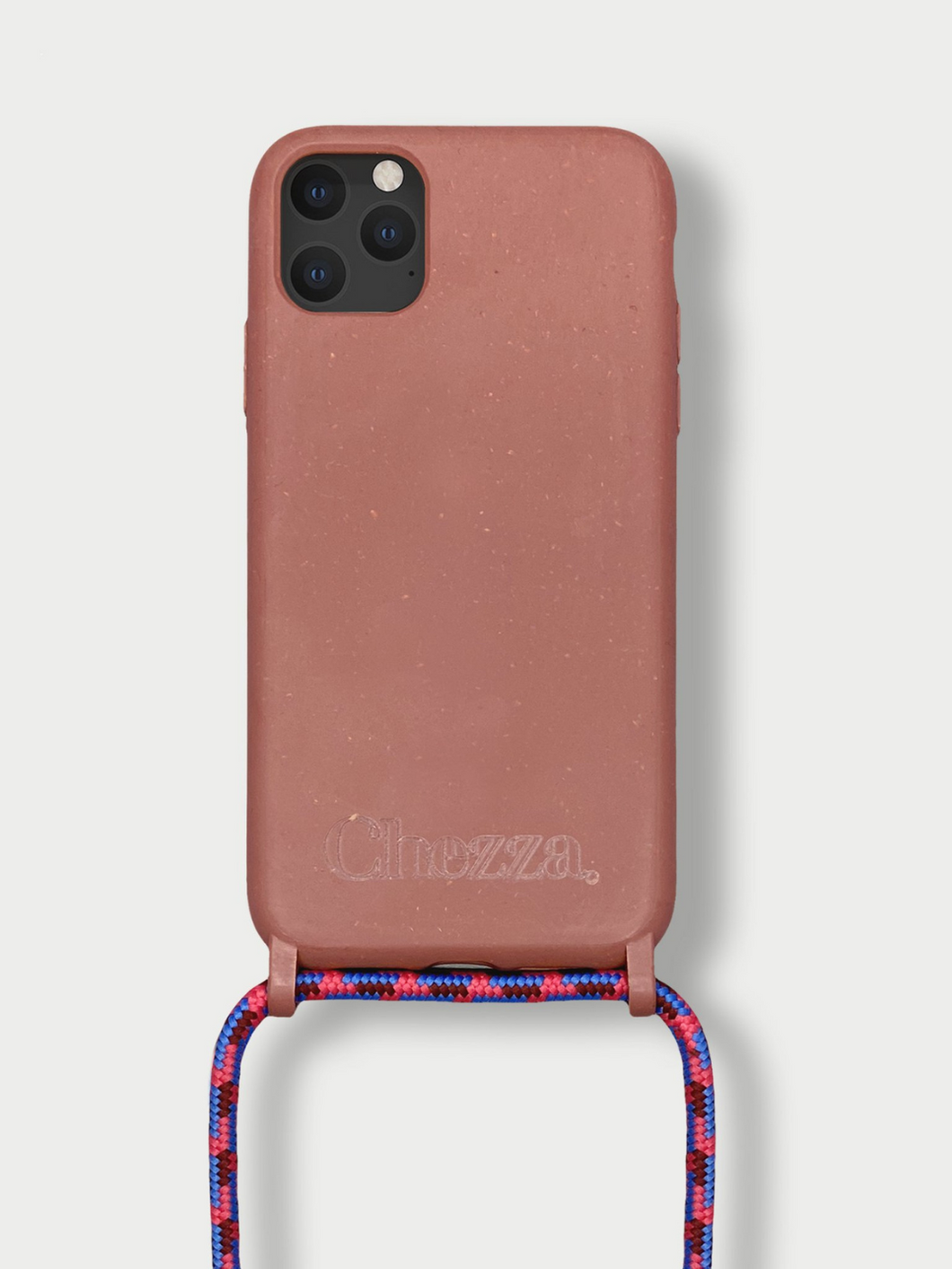 Sustainable Crossbody Phone Case / Strawberry Cloud