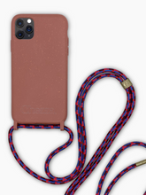 Load image into Gallery viewer, Sustainable Crossbody Phone Case / Strawberry Cloud
