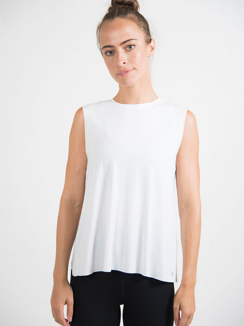 Mamon modal tank top knit activewear Maha Yogi ethical sustainable brand