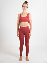 Load image into Gallery viewer, Maha Yogi Mahi bra ethical activewear made from upcycled deadstock fabric