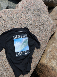 Earth Month T-Shirt / Black