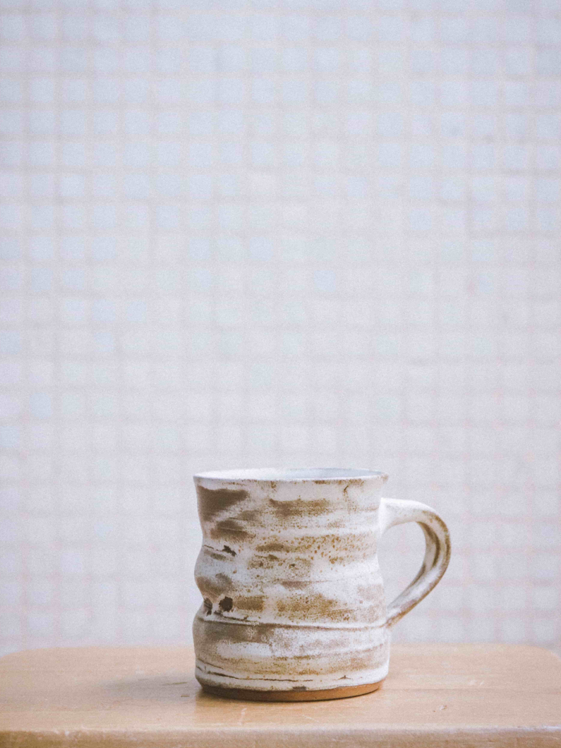 ceramic mug handmade in Hong Kong The Broke Potter
