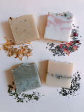Load image into Gallery viewer, a sip of ceylon lemon tea handmade soap natural cruelty-free zero waste skincare