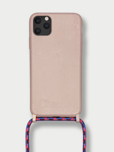 Sustainable Crossbody Phone Case / Rose Cloud