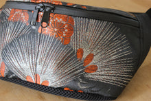 Load image into Gallery viewer, Mikan bags upcycled antique kimono bum bags crossbody bags ethical fashion made in Japan