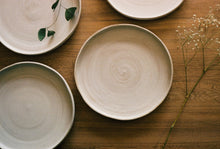Load image into Gallery viewer, classic dinner plate elegant timeless handmade ceramics natural eco-friendly