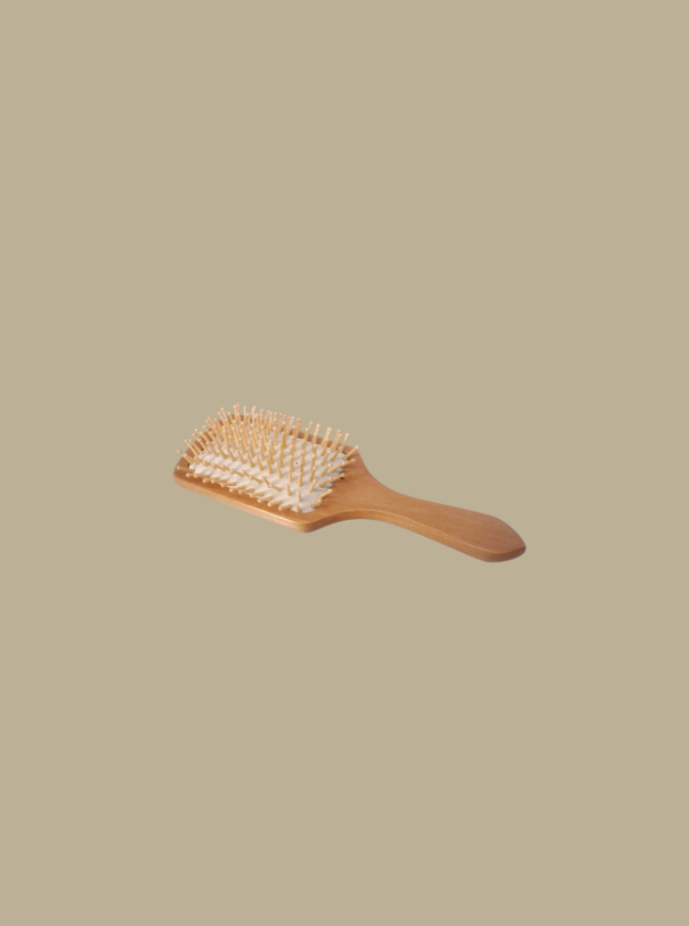 100% natural eco-friendly bamboo hairbrush