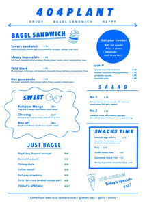 vegan meetup at 404 Plant vegan bagel shop cafe Hong Kong Sheung Wan