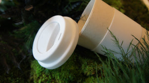 100% biodegradable bamboo fibre coffee mug travel cup