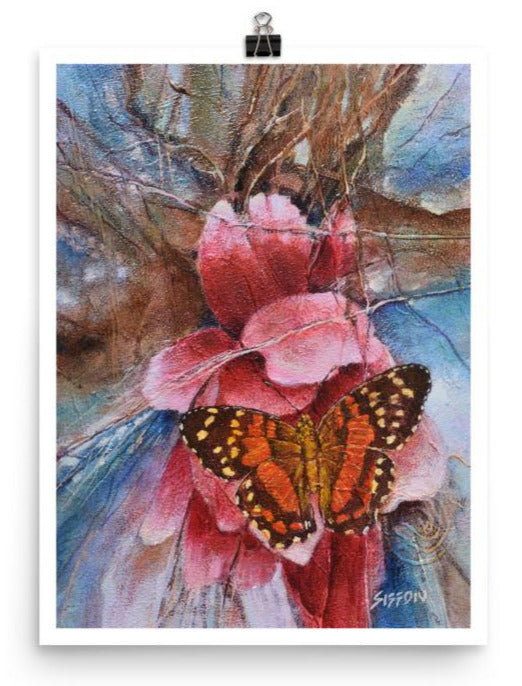 Butterfly & Peony