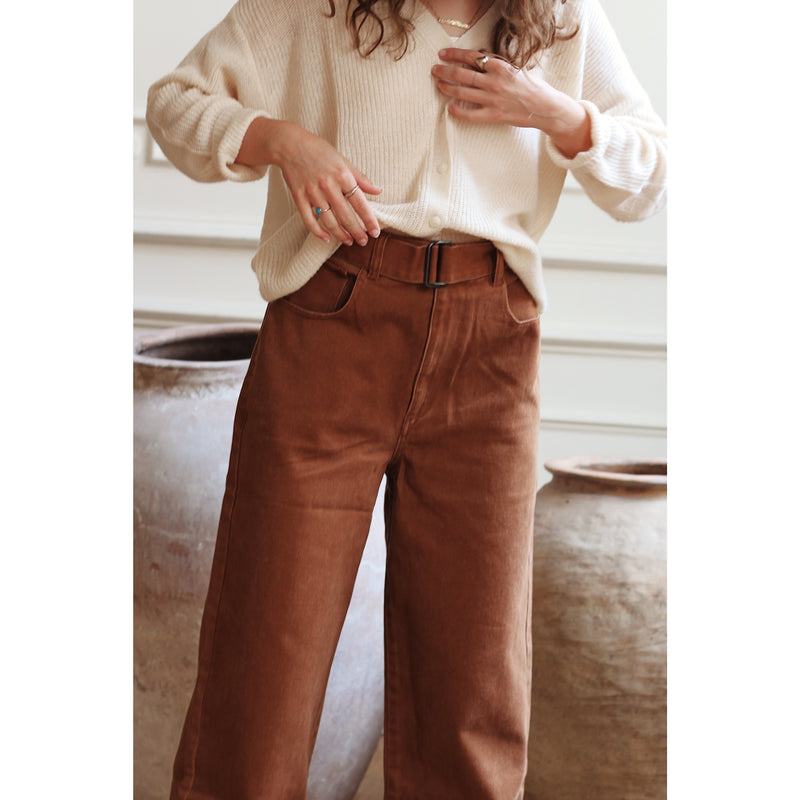 CHESTER pants ⎜Brown