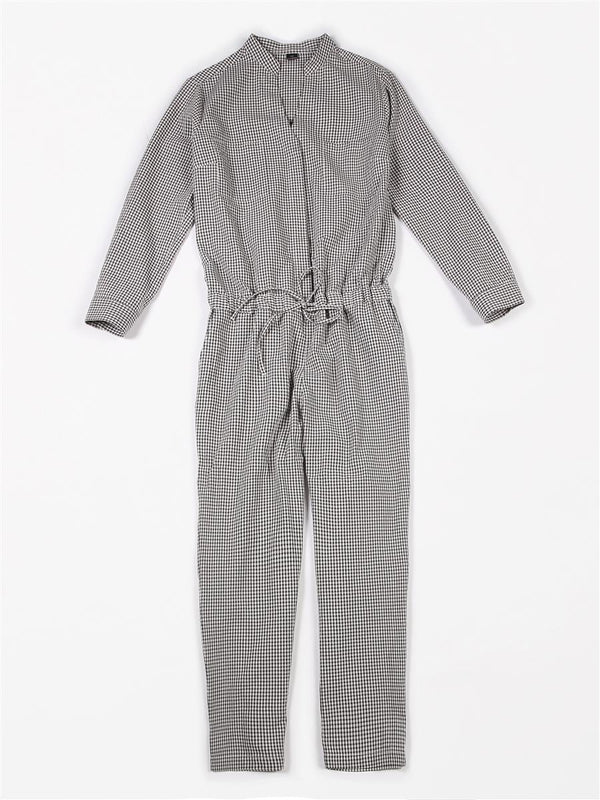 VICHY jumpsuit⎜Checked