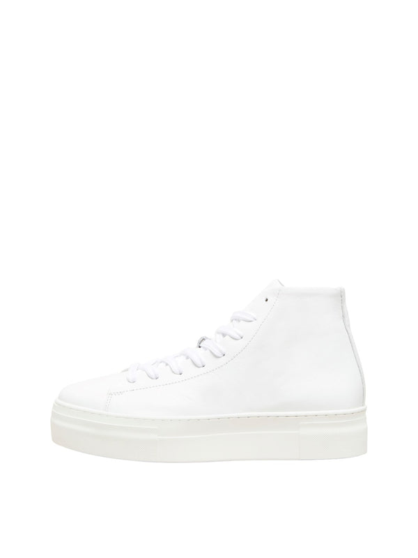 HAILEY high top trainer⎜White