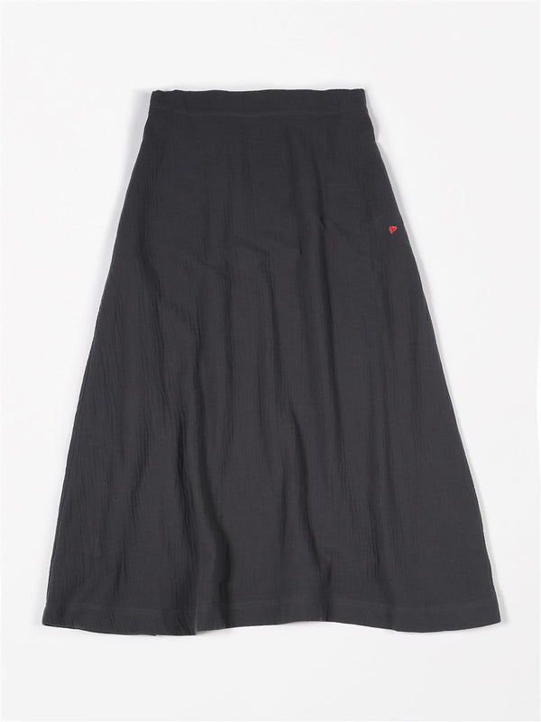 TETRA wide skirt⎜Antraciet