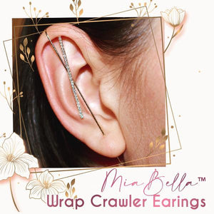 MiaBella™ Wrap Crawler Earrings
