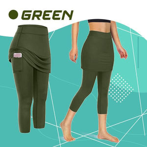 StretchRun™ Pocket Skirted Legging