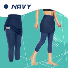 Load image into Gallery viewer, StretchRun™ Pocket Skirted Legging