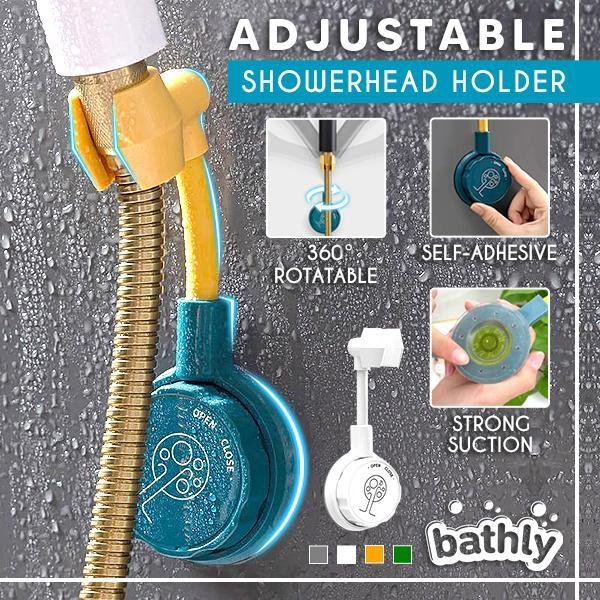 Bathly™ Adjustable Showerhead Holder