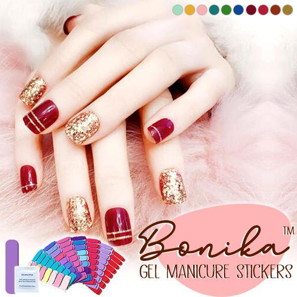 Bonika™ Gel Manicure Stickers