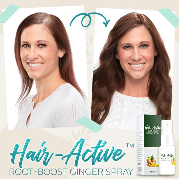 Hair-Active™ Root-Boost Ginger Spray