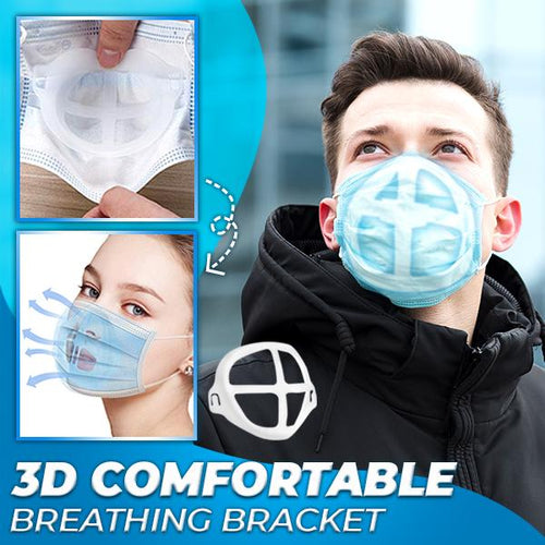 3D Comfortable Breathing Bracket