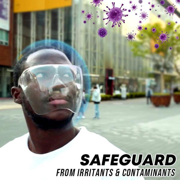 Safeguard Transparent Glasses