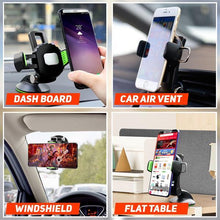 Load image into Gallery viewer, 360° Adjustable Suction Cup Phone Holder