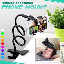 Load image into Gallery viewer, Bedside Gooseneck Phone Mount