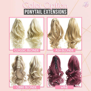 Clip-in Wavy Ponytail Extensions