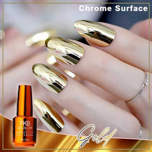Load image into Gallery viewer, Nailtural™  Chrome & Matte Gel Effect Polish