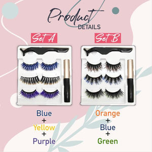 MagneticClick Ombre Eyelashes Set