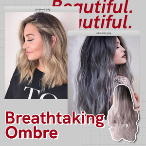 The Hairdrobe™ Ombre Dark Root Wig